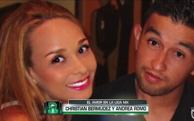 El amor en la Liga MX: Christian Bermúdez y Andrea Romo en el Día de San...