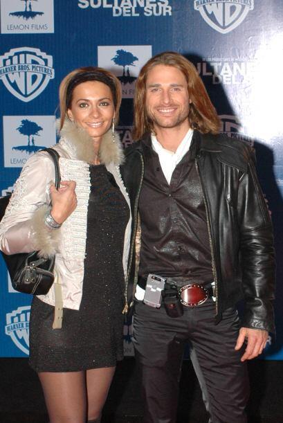 Sebastián Rulli y Cecillia Galilano unieron sus vidas en el 2007.