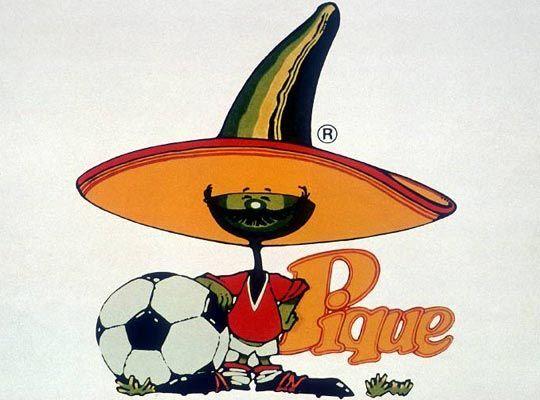Él era Pique, la curiosa mascota del Mundial: un jalapeño con bigotes y...