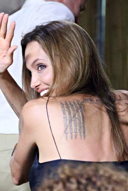 Angelina también se despidió de los fans. Mira aquí...