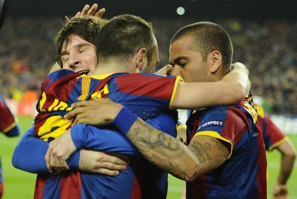 Se cobró un penalti en favor del Barça y Messi fue el cobrador, poniendo...