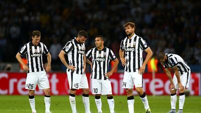 El conjunto bianconero no pudo responder al potencial del Barcelona.