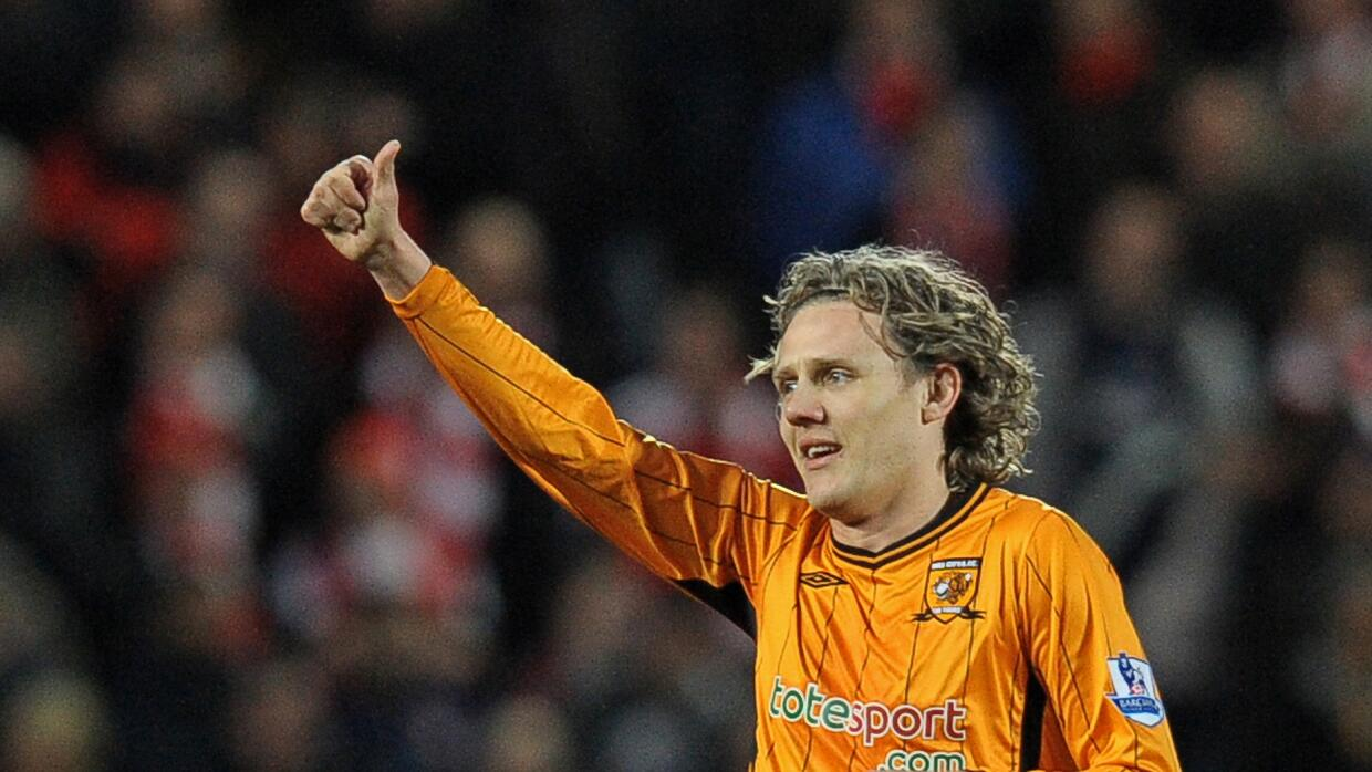 Jimmy Bullard con el Hull City