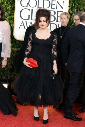 No es que Helena Bonaham Carter haya subido de peso y parezca globito, l...