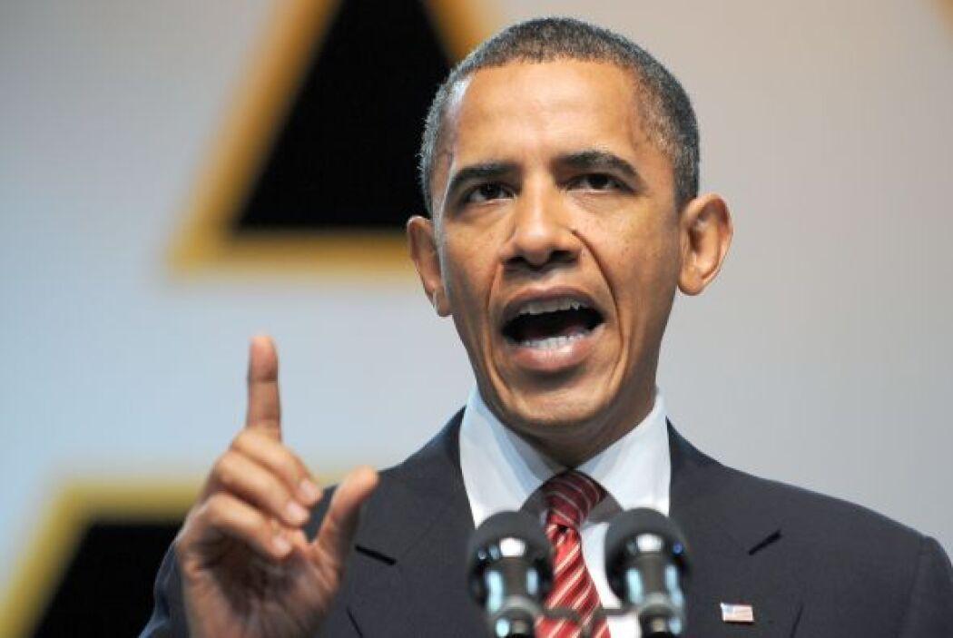 El presidente Barack Obama afirmó que Estados Unidos finalizará su misió...
