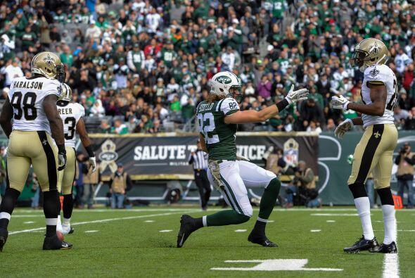 Los Jets (5-4) mantuvieron su racha de victorias alternadas con derrotas.