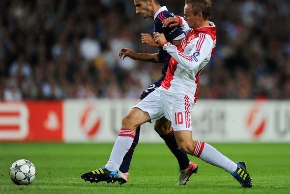 Ajax y Lyon empataron 0 a 0 y ahora la revancha será a todo o nad...
