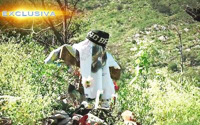 Donde cayó el avión: Así se vivió el día en que murió Jenni Rivera