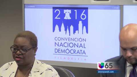 Philadelphia se alista para recibir a los miles de demócratas que llegar...