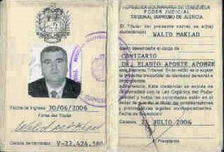 Makled dice que él se movía libremente por todo Venezuela con credencial...