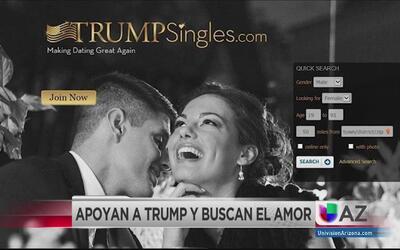 Simpatizantes de Trump tienen un sitio para encontrar el amor