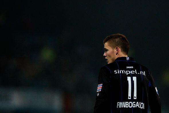 El delantero islandés no ha podido marcar en los 13 partidos que...