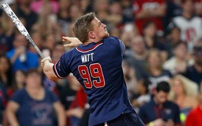 El torneo de caridad de J.J. Watt, fue ¡un home run!