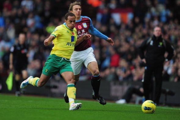 Aston Villa le ganó 3 a 2 al Norwich en un encuentro muy entreten...