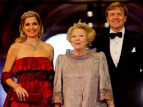 La reina Beatriz de Holanda ofreció una cena en el Rijksmuseum de...