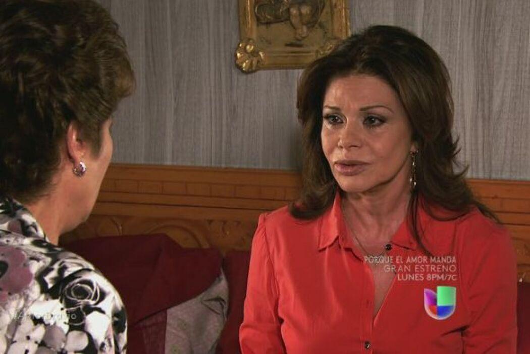 Agustina no puede creer que Dionisio le haya mentido durante tanto tiemp...