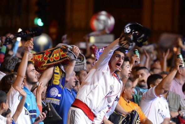 De momento ya se contentan con el primer título del año, la Copa del Rey.