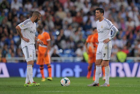 No hubo tiempo para más y Real Madrid se conformó con un punto. Mal marc...