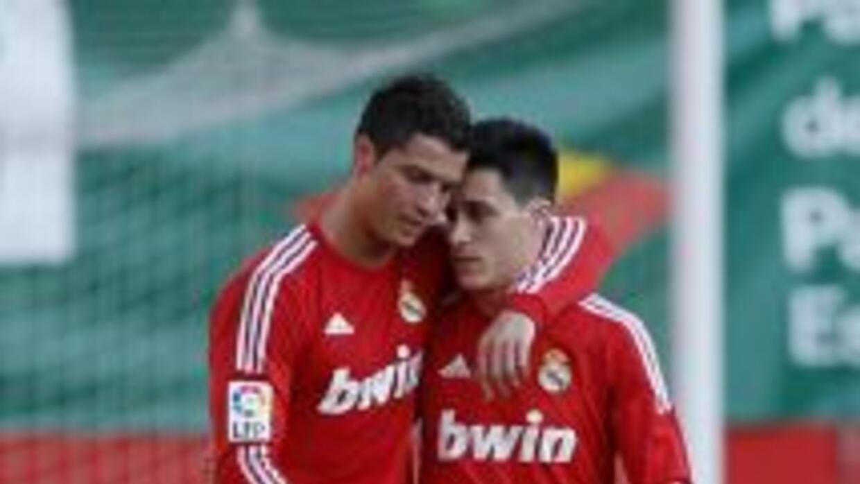 Cristiano y Callejón, durante el tiempo que ambos coincidieron en el Rea...
