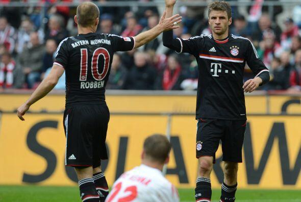 Müller ha tenido una baja de juego, pero parece retomar la forma f&...