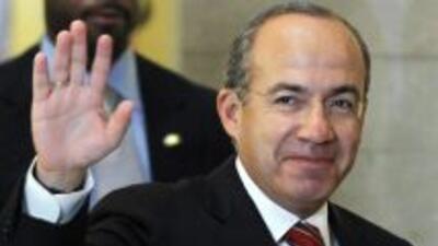 El presidente mexicano Felipe Calderón realiza este fin de semana una vi...