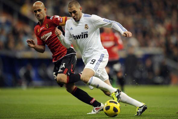 En este encuentro, el francés Karim Benzema reapareció en...