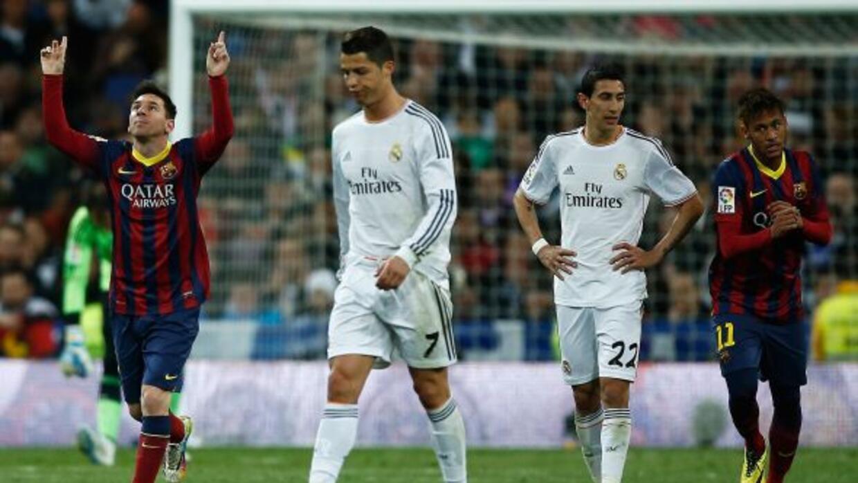 Messi, Cristiano y Neymar son candidatos al once del año como delanteros...
