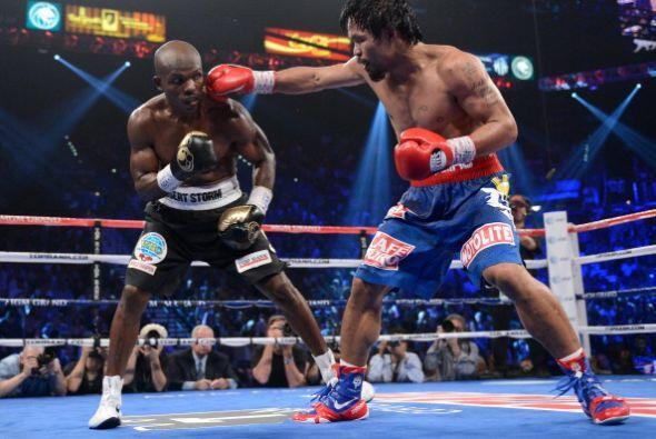 La pelea se debía medir más por cantidad de golpes que por su contundenc...