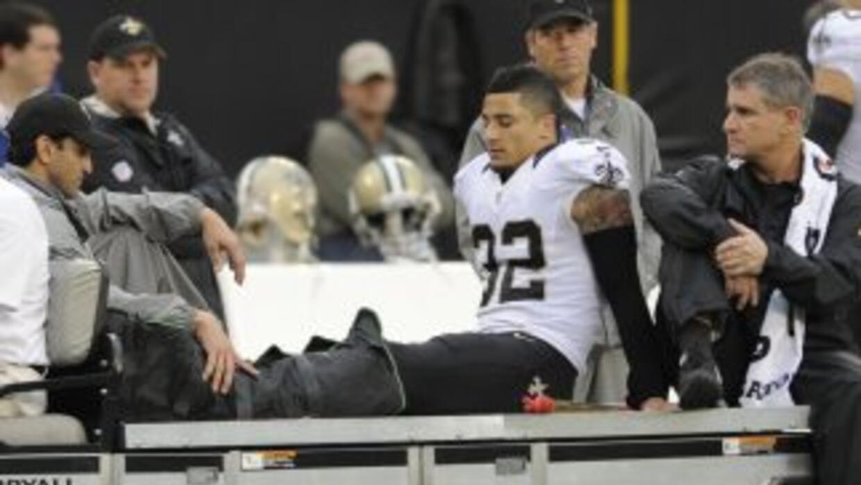Kenny Vaccaron dejará un hueco importante en la secundaria de Saints (AP...