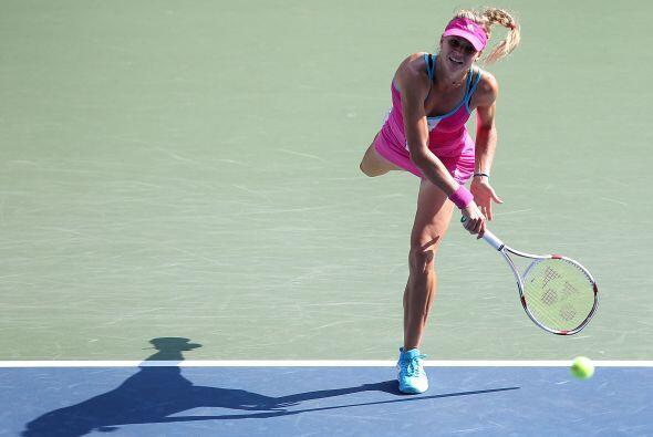 La victoria fue para MAria Kirilenko por 6-3, 6-3.