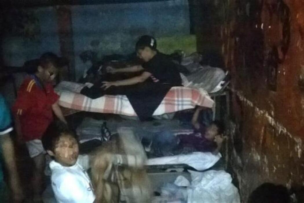 El Ejército y la Policía mexicana liberaron a 458 niños y 138 adultos vi...