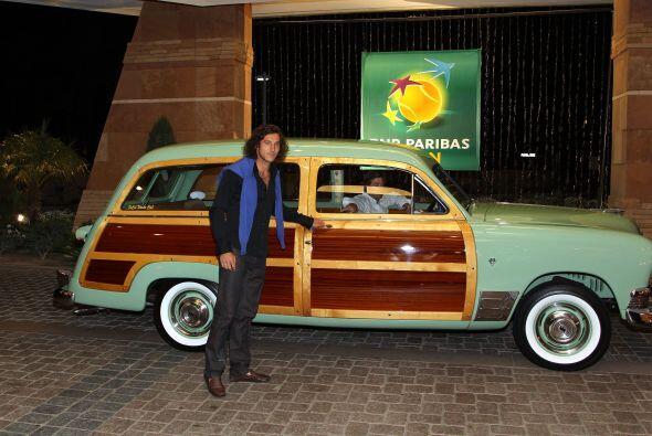 Representando a Latinoamérica, el argentino Juan Mónaco.