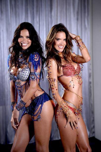 Las bubis de Adriana Lima y Alessandra Ambrosio se convertirán en las pa...