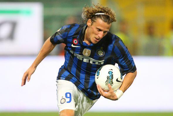 Forlán se estrenó como goleador 'nerazzurro', aunque su In...