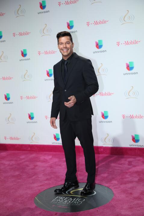 Ricky Martin   Foto: Univisión