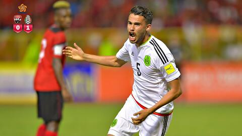 México le pegó de visita 1-0 a Trinidad y Tobago