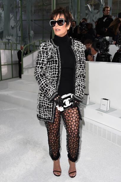 La que de plano robó cámara en la pasarela de Chanel fue K...