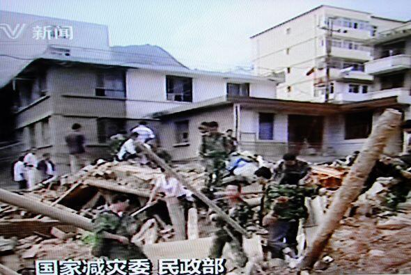 Más de 600 personas han sido rescatadas y un total de 20 mil pers...