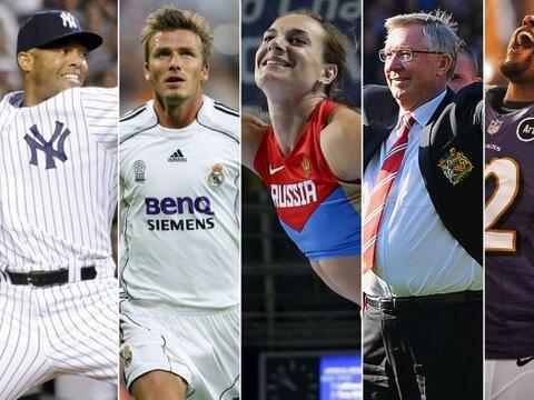 En este 2013 muchos grandes atletas tomaron la decisión de retira...