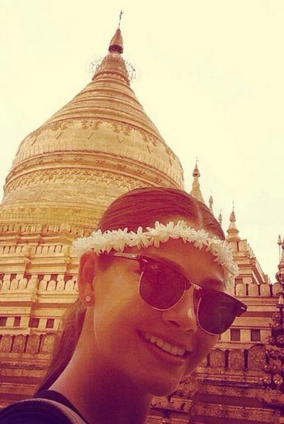 A continuar el recorrido por los Templos de Bagan. (Junio 14, 2014)