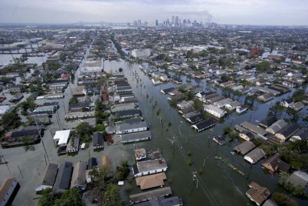 El último fin de semana de agosto de 2005, el huracán Katrina llegó a la...