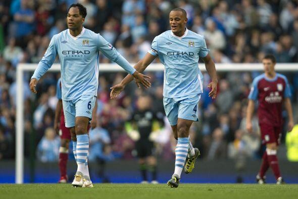 El zaguero belga del Manchester City fue parte de los anotadores en el d...