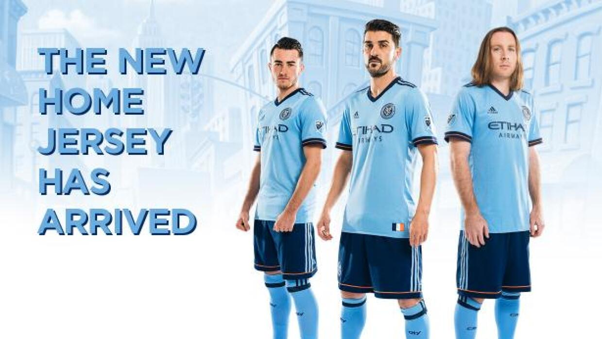 NYCFC nueva camiseta 2017