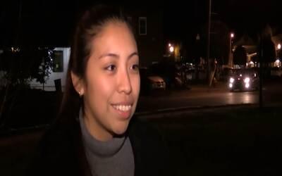 Una joven salvadoreña pide el apoyo de la comunidad para frenar su depor...