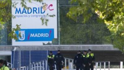Una joven de 17 años aplastada en una avalancha en un estadio de Madrid...