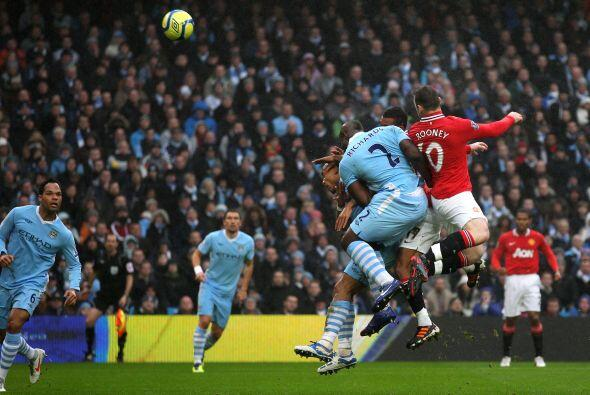 El United fue el equipo que pegó primero con un gol al minuto 10.