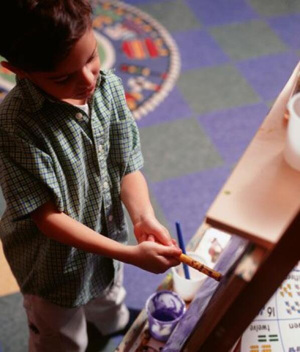 PINTURA. Las clases de artes visuales suelen ser para los alumnos una ma...