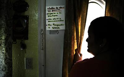 Bertha put a sign inside the door of her house to remind her kids not to...