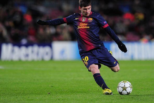 Lionel apenas pisó el campo y mostró su peligrosidad de su...