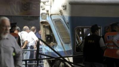 El accidente de tren más reciente en Argentina, ha dejado hasta el momen...